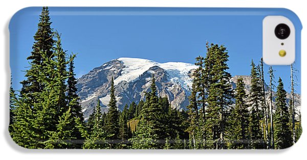 Mount Rainier Evergreens IPhone 5c Case by Anthony Baatz