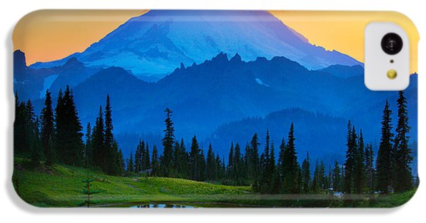 Mount Rainier Goodnight IPhone 5c Case by Inge Johnsson