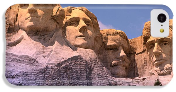 Mount Rushmore IPhone 5c Case by Olivier Le Queinec