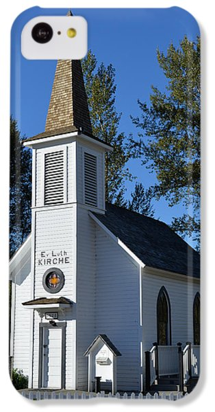 IPhone 5c Case featuring the photograph Mountain Chapel by Anthony Baatz