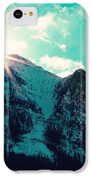 Mountain Starburst IPhone 5c Case by Kim Fearheiley