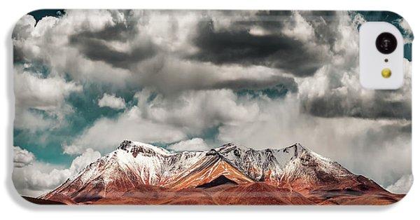 South America iPhone 5c Case - Mountains In The Salvador Dali Desert - Bolivia by Hernan Calderon Velasco