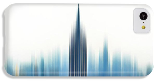 Empire State Building iPhone 5c Case - Moving An Empire by Az Jackson