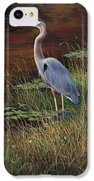 Mrs Blue Heron IPhone 5c Case by Laurie Hein
