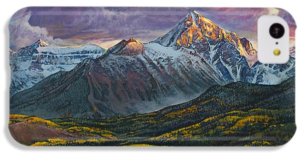 Mt. Sneffels IPhone 5c Case by Aaron Spong