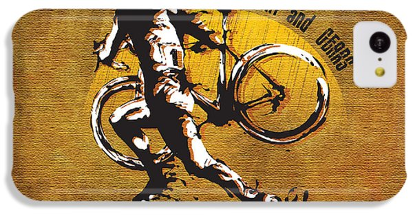 Bicycle iPhone 5c Case - Mud Sweat And Gears by Sassan Filsoof