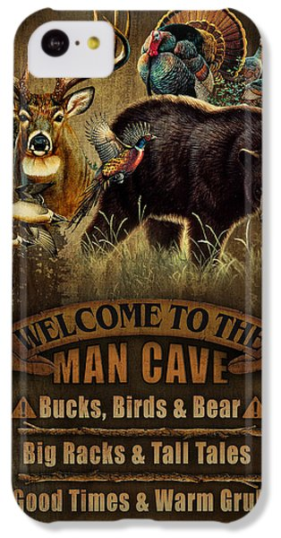 Pheasant iPhone 5c Case - Multi Specie Man Cave by JQ Licensing