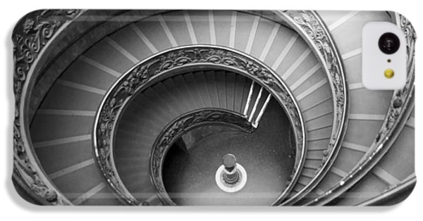 IPhone 5c Case featuring the photograph Musei Vaticani Stairs by Nathan Rupert