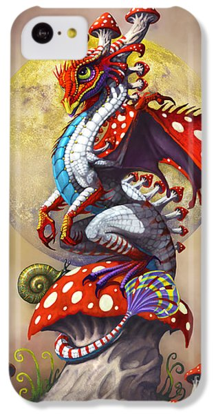 Mushroom Dragon IPhone 5c Case by Stanley Morrison