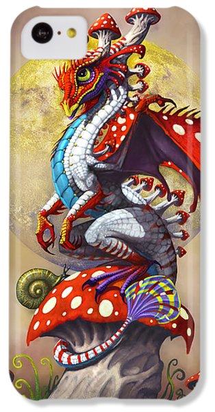 Mushroom Dragon IPhone 5c Case by Stanley Morrison