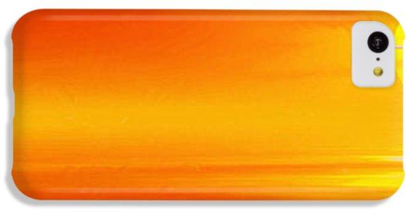 Mute Sunset IPhone 5c Case by John Edwards