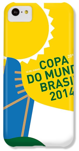 My 2014 World Cup Soccer Brazil - Rio Minimal Poster IPhone 5c Case