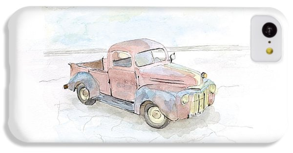 Truck iPhone 5c Case - My Favorite Truck by Joan Sharron