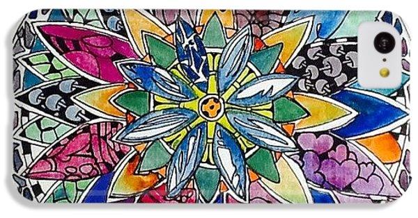 iPhone 5c Case - Spring Mandala by Sandra Lira