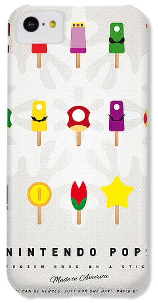 Magician iPhone 5c Case - My Mario Ice Pop - Univers by Chungkong Art