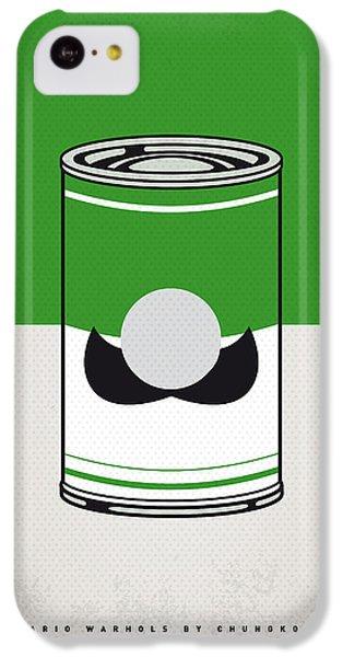 My Mario Warhols Minimal Can Poster-luigi IPhone 5c Case