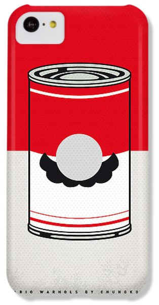 My Mario Warhols Minimal Can Poster-mario IPhone 5c Case