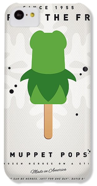My Muppet Ice Pop - Kermit IPhone 5c Case by Chungkong Art