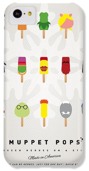 Frogs iPhone 5c Case - My Muppet Ice Pop - Univers by Chungkong Art