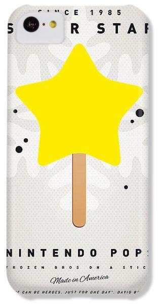 Castle iPhone 5c Case - My Nintendo Ice Pop - Super Star by Chungkong Art