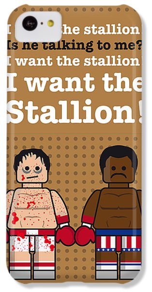 My Rocky Lego Dialogue Poster IPhone 5c Case by Chungkong Art