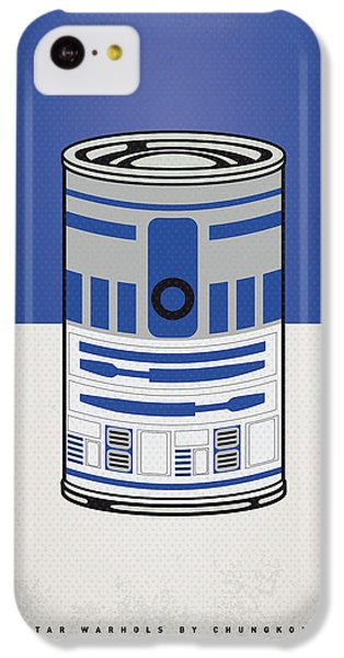 Vegetables iPhone 5c Case - My Star Warhols R2d2 Minimal Can Poster by Chungkong Art