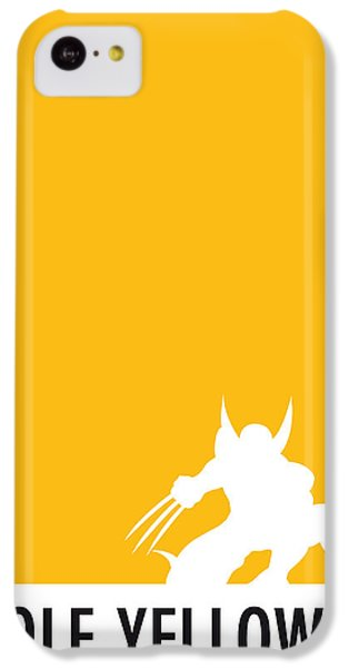 My Superhero 05 Wolf Yellow Minimal Poster IPhone 5c Case by Chungkong Art