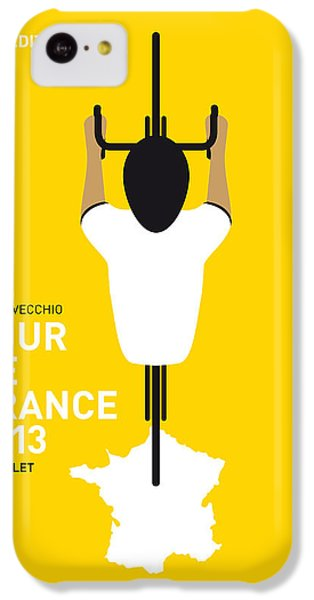Bicycle iPhone 5c Case - My Tour De France Minimal Poster by Chungkong Art