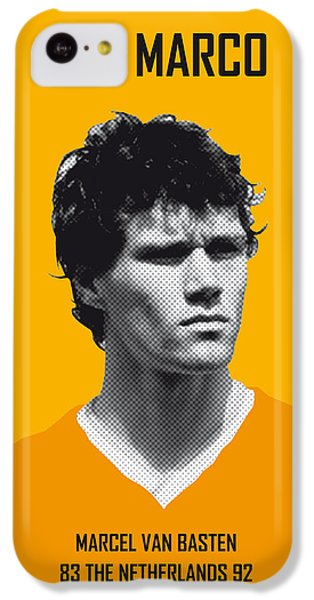 My Van Basten Soccer Legend Poster IPhone 5c Case by Chungkong Art