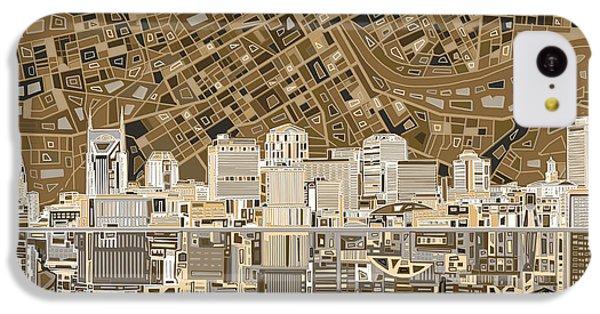 Nashville Skyline Abstract 2 IPhone 5c Case