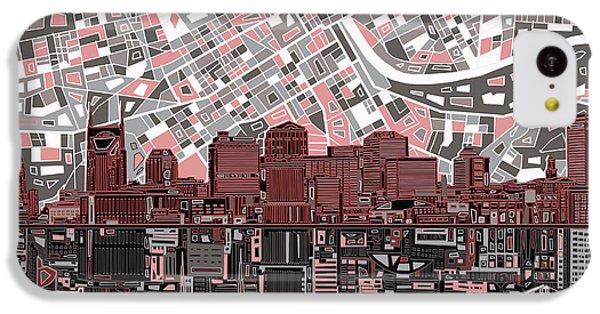 Nashville Skyline Abstract 3 IPhone 5c Case