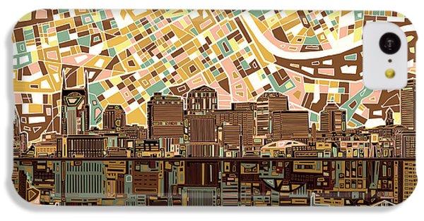 Nashville Skyline Abstract 4 IPhone 5c Case
