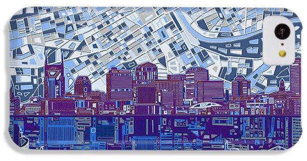 Nashville Skyline Abstract 8 IPhone 5c Case