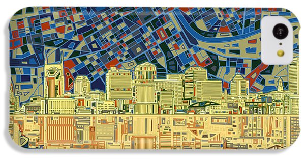 Nashville Skyline Abstract 9 IPhone 5c Case