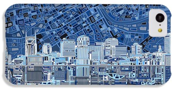 Nashville Skyline Abstract IPhone 5c Case