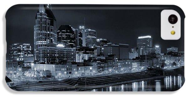 Nashville Skyline At Night IPhone 5c Case