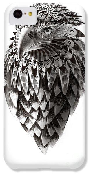 Hawk iPhone 5c Case - Native American Shaman Eagle by Sassan Filsoof