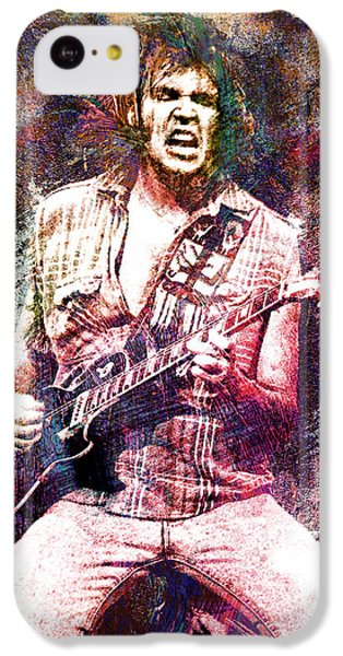Neil Young Original Painting Print IPhone 5c Case