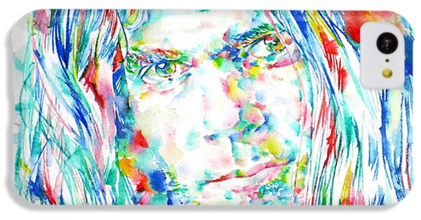 Neil Young - Watercolor Portrait IPhone 5c Case