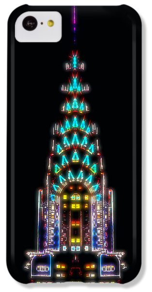 Neon Spires IPhone 5c Case