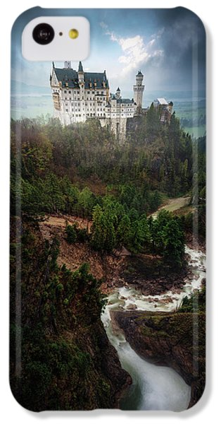 Fairy iPhone 5c Case - Neuschwanstein. by Juan Pablo De