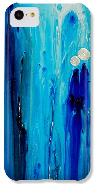 Abstract iPhone 5c Case - Never Alone By Sharon Cummings by Sharon Cummings