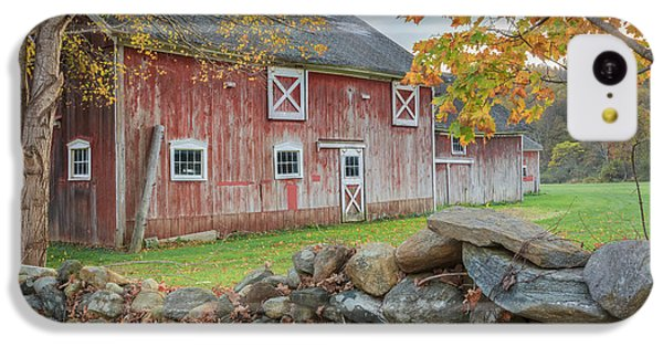 New England Barn IPhone 5c Case by Bill Wakeley