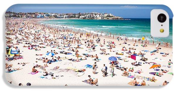 New Year's Day At Bondi Beach Sydney Australi IPhone 5c Case by Matteo Colombo
