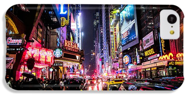 New York City Night IPhone 5c Case by Nicklas Gustafsson