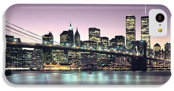 New York City Skyline IPhone 5c Case by Jon Neidert