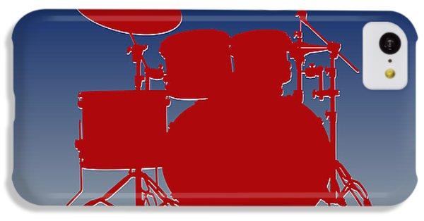 New York Giants Drum Set IPhone 5c Case by Joe Hamilton