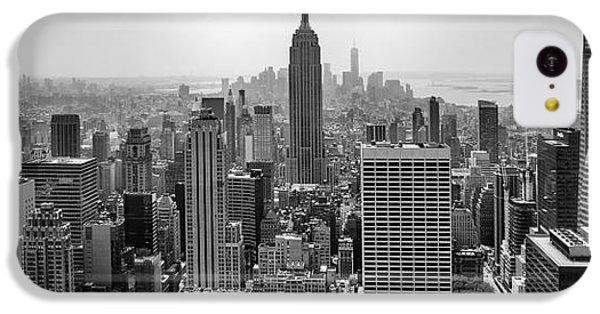 Empire State Building iPhone 5c Case - New York Moody Skyline  by Az Jackson