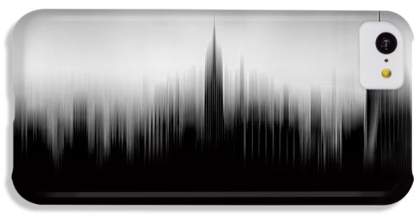 Empire State Building iPhone 5c Case - New York Skyline Abstract by Az Jackson