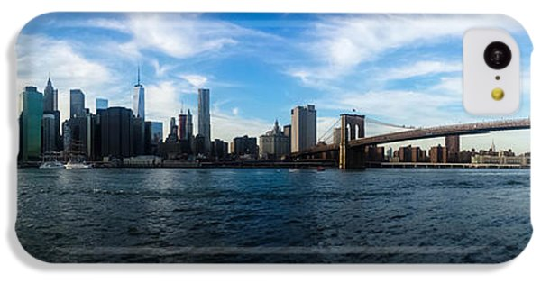 New York Skyline - Color IPhone 5c Case by Nicklas Gustafsson